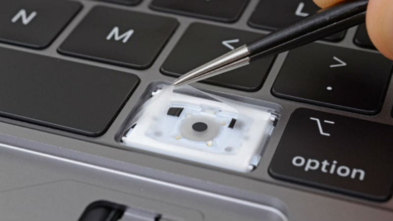 Apple's New MacBook Pro Keyboard Has 'Thin, Silicone Barrier' Under Each Key: iFixit