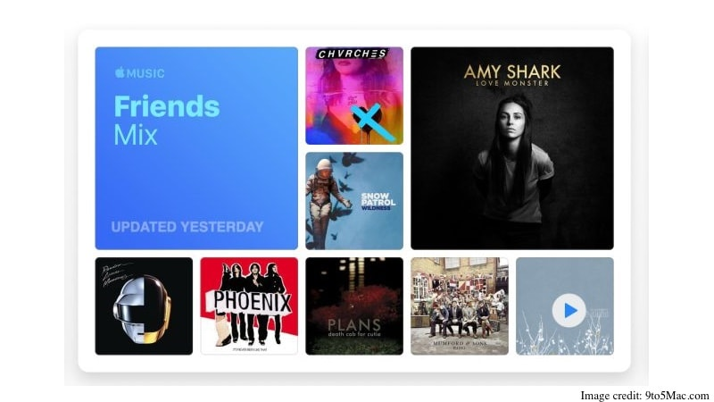 Apple Music Begins Rolling Out Friends Mix, a Playlist With Songs Your Friends Have Been Listening To
