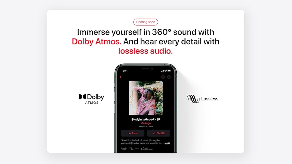 Apple Music Lossless Audio, Dolby Atmos, and Spatial Audio Coming to India Soon; Android Beta Gets Support