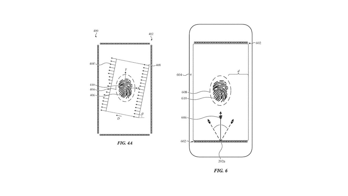 Apple Patent Tips Plans for an iPhone In-Display Fingerprint Sensor