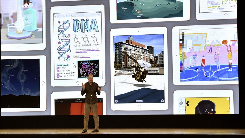 Apple Pursues Google in Education With $299 iPad, Software