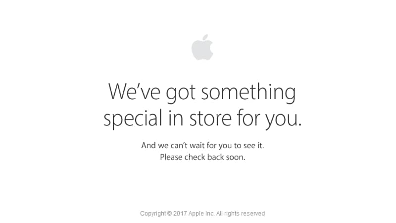 Apple Store Is Down; New Hardware Including iPad Pro Expected to Be Launched