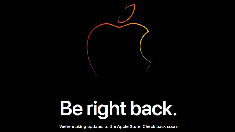 Apple Store Goes Down Ahead of iPhone Launch Today