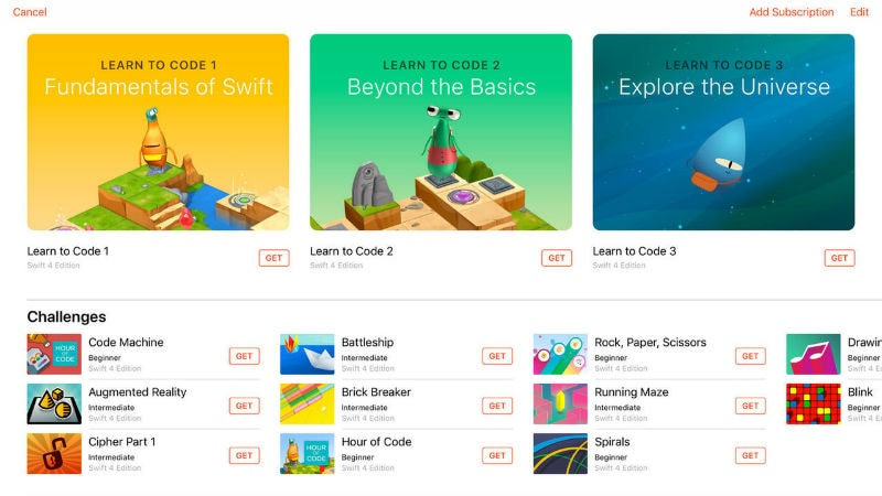 Apple Swift Playgrounds 2.0 Released, Comes With Playground Subscription and New Robots
