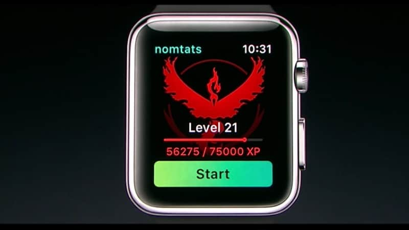 Pokemon Go for Apple Watch Announced