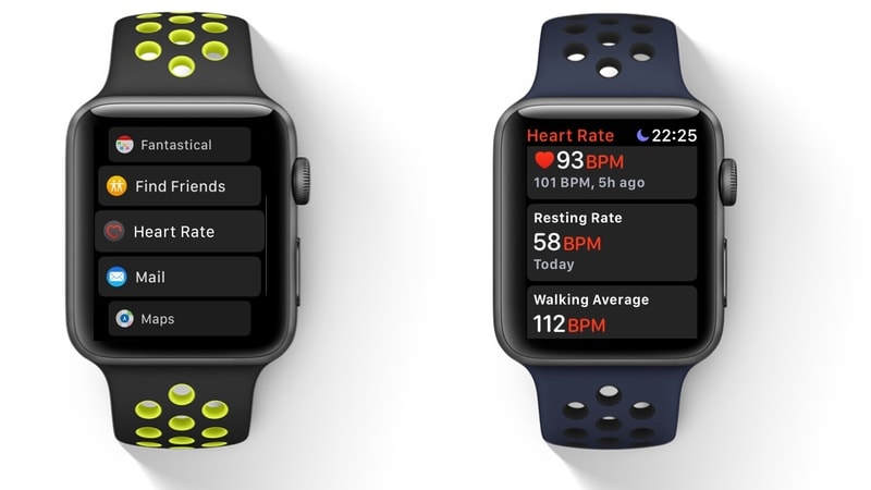 apple watch series 3 app switcher heart rate gadgets 360 watchOS 4