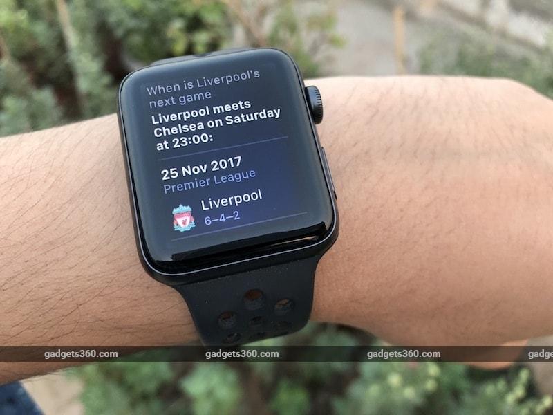 apple watch series 3 siri Apple Watch