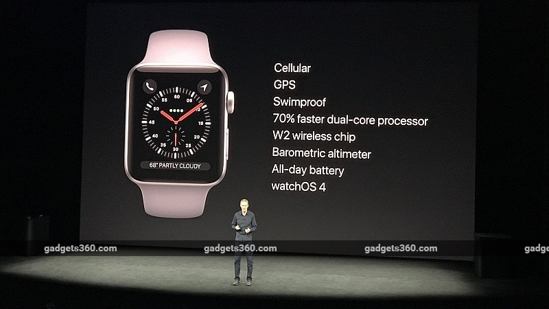 Apple Watch Series 3 Voice Calling Feature Isn't Coming to India