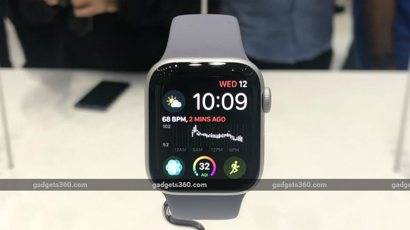 Apple Watch Series 4 Price in India to Start at Rs. 40,900