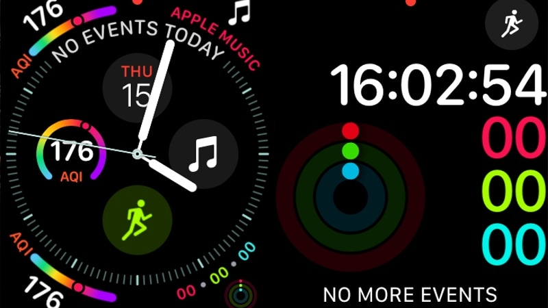 apple watch series 4 infograph activity gadgets 360 Apple Watch Series 4