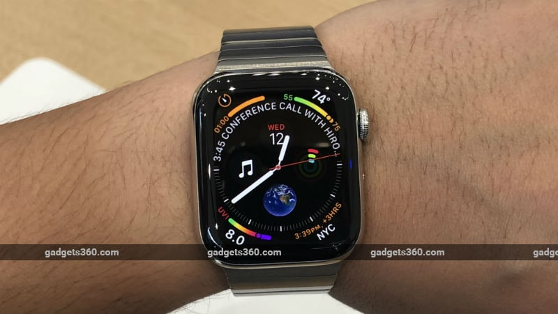 9791b219c0ad Apple Watch Series 4 Price in India