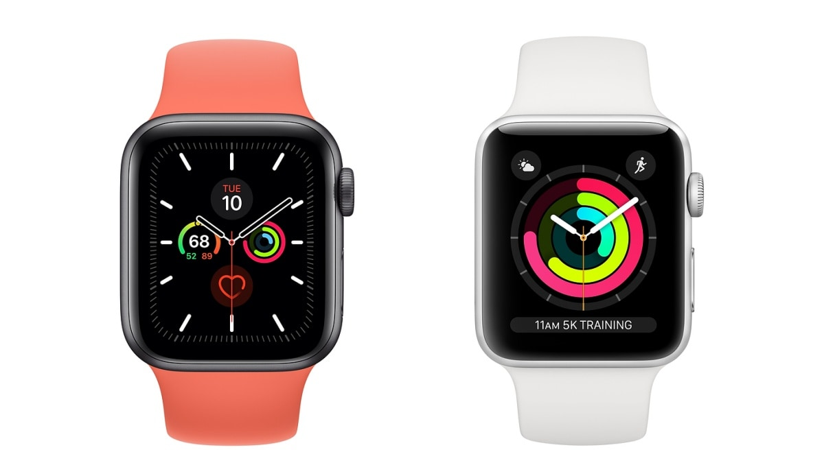 Apple Watch Series 5 Price in India Detailed, Apple Watch Series 3 Gets a Price Cut
