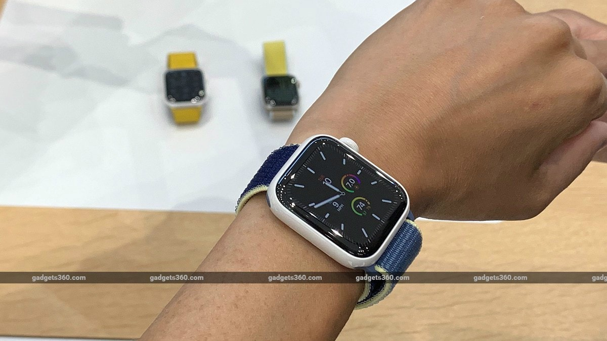 Apple Watch Series 5 Launched: Here's Its Price in India and Release Date