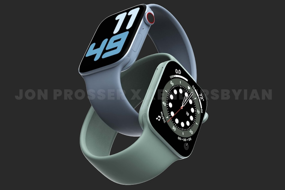 Apple Watch Series 7 Tipped to Be Completely Redesigned With Flat Edges, Multiple Colour Options