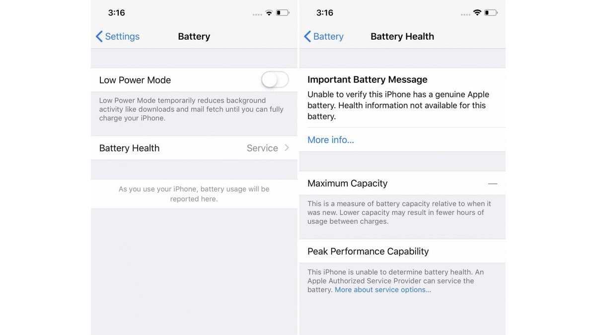 Apple Locking Select iPhone Batteries to Discourage DIY, Third-Party
