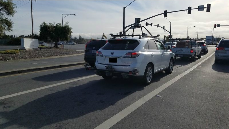 Apple Self-Driving Test Vehicle Spotted on the Roads for the First Time
