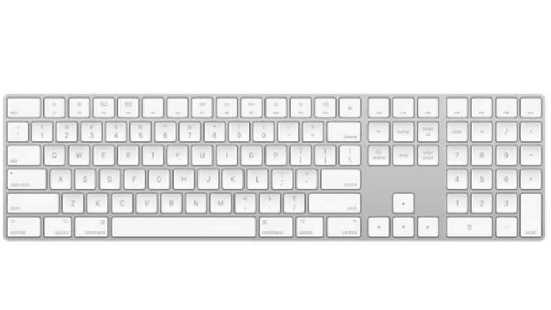 apple launches wireless magic keyboard with numeric keypad discontinues wired one technology news. Black Bedroom Furniture Sets. Home Design Ideas