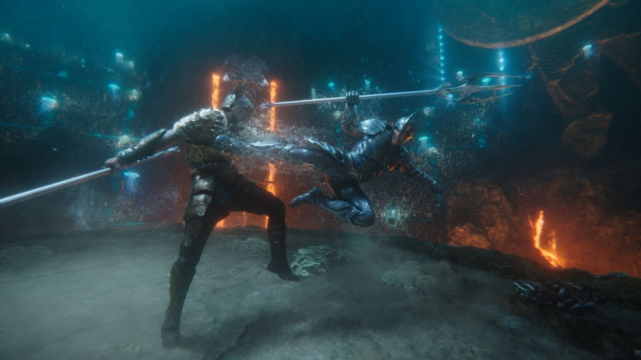 aquaman orm fight Aquaman