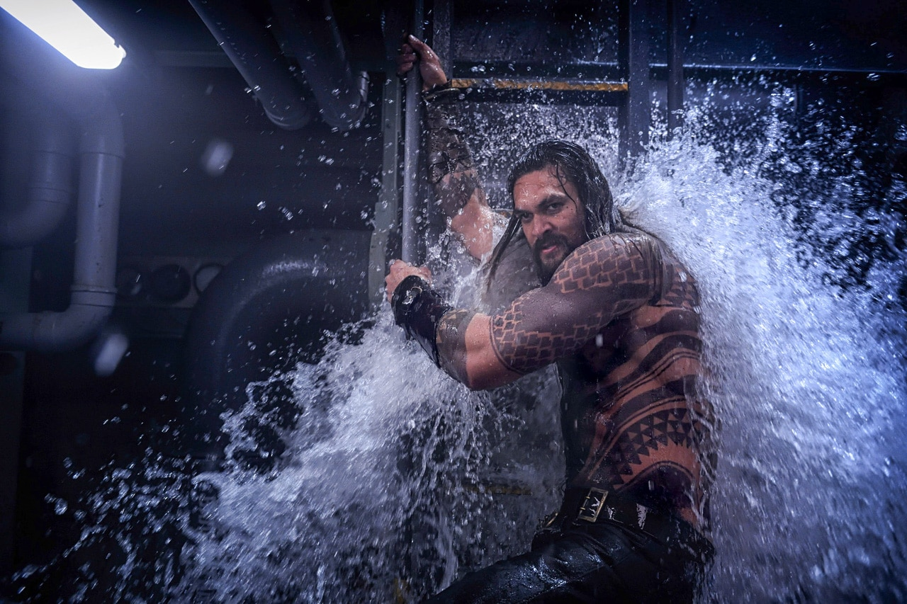 Aquaman Trailer: Watch Jason Momoa Get Wet