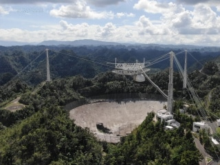 Puerto Rico's Arecibo Observatory Telescope Collapses Ahead of Planned Demolition
