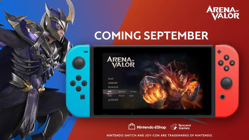 Arena of Valor Nintendo Switch to Have Upgraded Graphics, Different Stats from Mobile Version