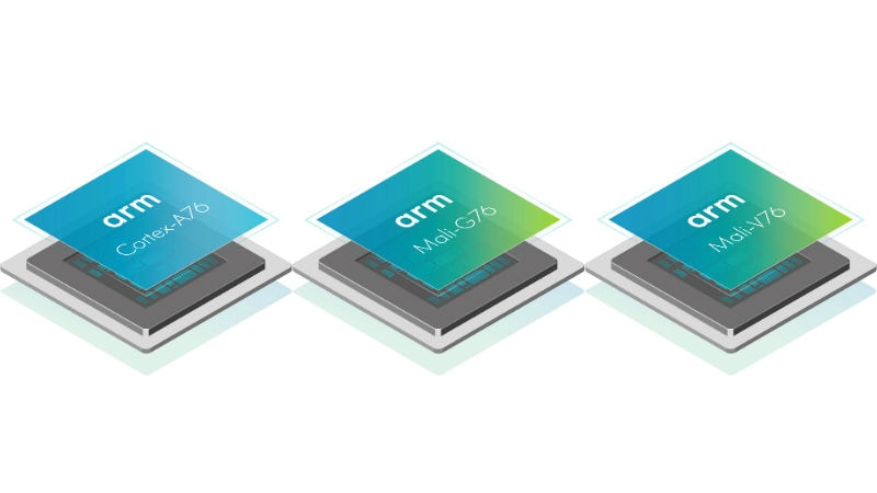 ARM Cortex-A76 CPU, Mali-G76 GPU, Mali-V76 VPU Designs Launched