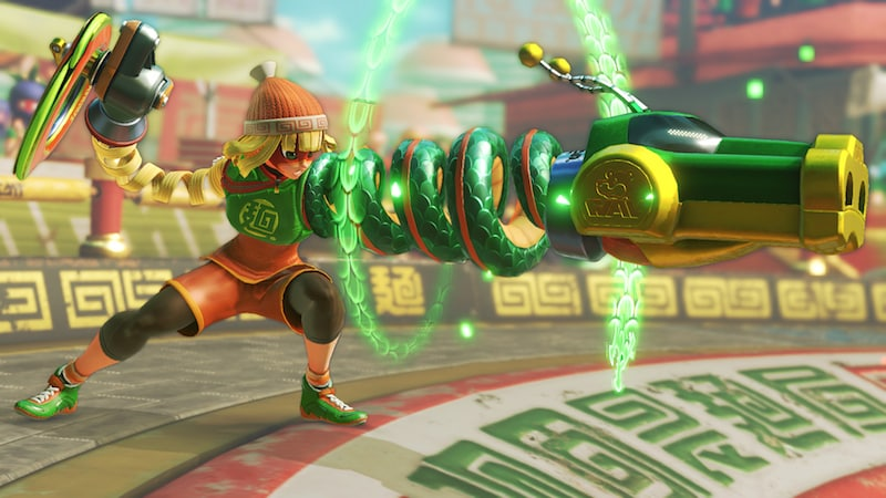 Here's When You Can Play the Arms Global Testpunch for the Nintendo Switch