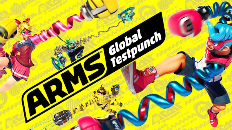 arms nintendo switch testpunch Arms