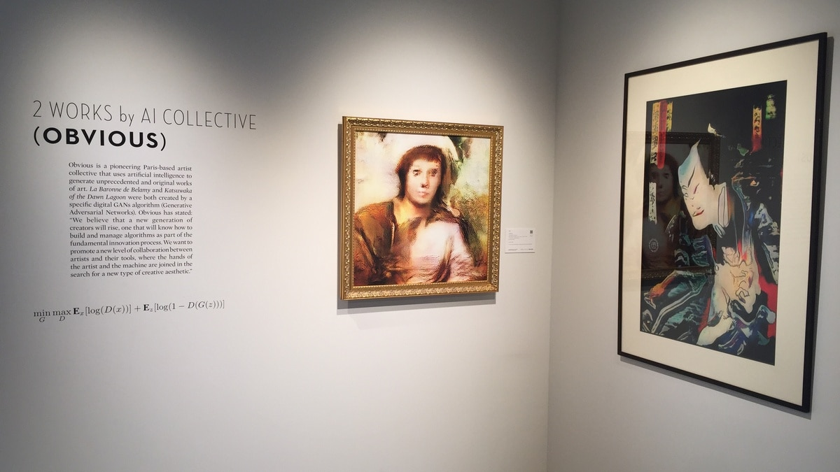 Artificial Intelligence-Created Paintings to Be Put on Sale by Sotheby's in New York