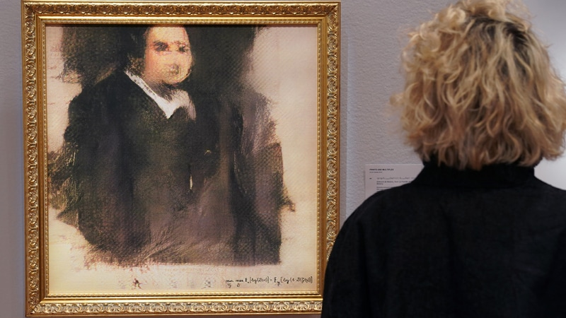 AI-Created Art Fetches $432,500 at New York Auction: Christie's