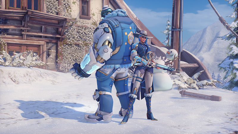 Overwatch Winter Wonderland 2018: All Skins, Emotes, and Intros Listed