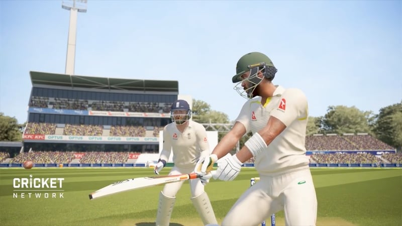 ashes cricket cut shot Ashes Cricket