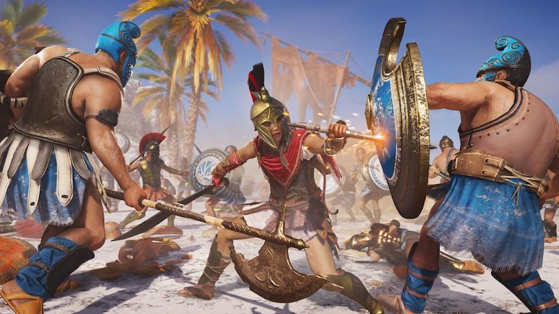 Assassin's Creed Odyssey Feels Like 300 Meets Mass Effect