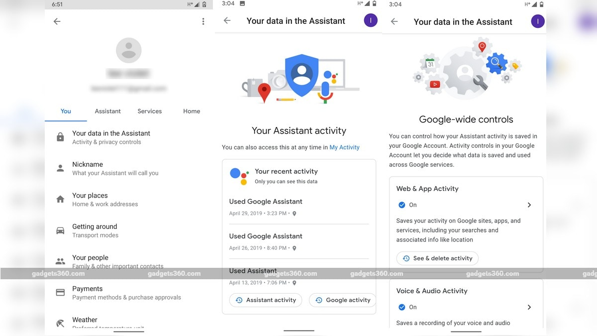 Google Now Lets You Control Assistant Data Uptake From Google App, Also Eases Deleting Voice Log