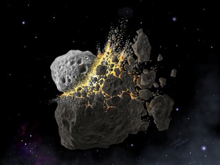 How a Gigantic Collision in Space Triggered an Ice Age on Earth 466 Million Years Ago