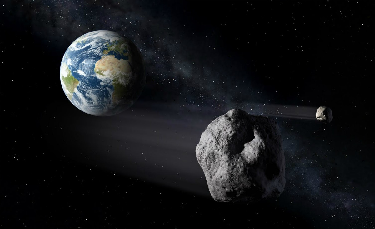 Asteroid Twice the Size of Big Ben to Skim Past Earth Today