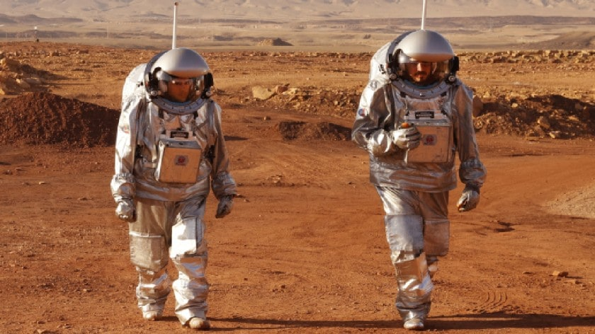 Life on Mars: Simulating Red Planet Base in Israeli