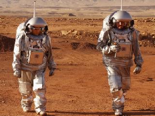 Life on Mars: Simulating Red Planet Base in Israeli Desert for Astronaut Training
