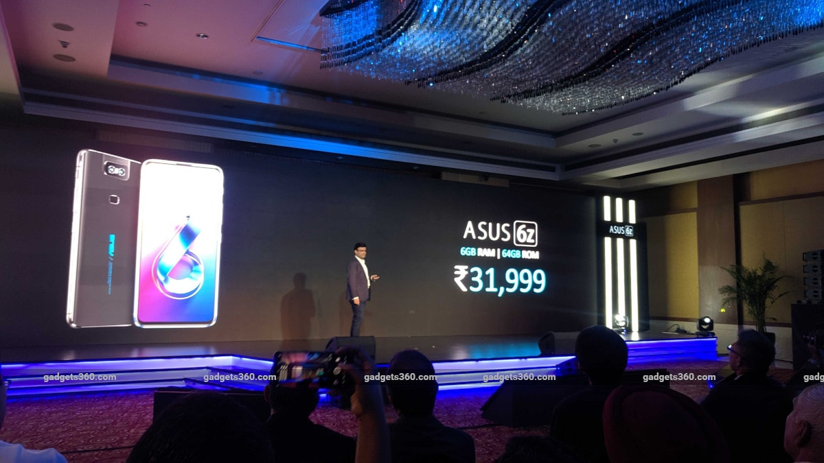 Asus 6Z Launched in India Starting at Rs  31,999, Sales Open