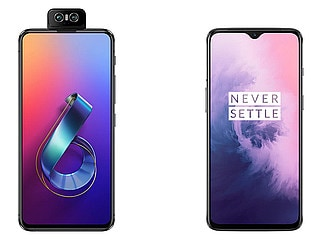 Asus 6Z vs OnePlus 7: Price in India, Specifications Compared