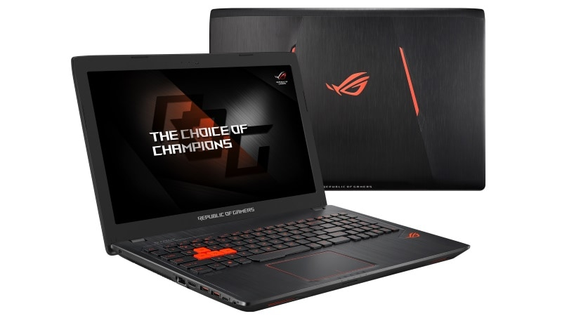 Asus ROG Strix GL553 Gaming Laptop Launched in India, Starting Rs. 94,990