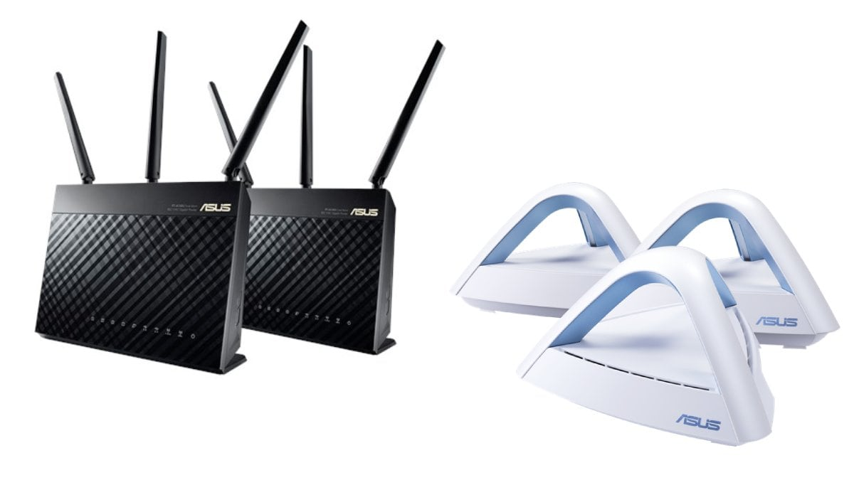 asus aimesh routers asus