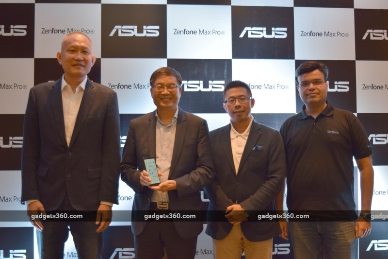 asus jerry shen jerry tsao dinesh sharma leon yu maxprom1 launch ndtv asus