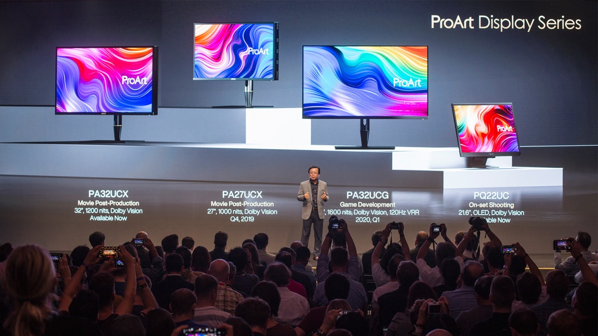 Asus Launches New ProArt Series Desktop, Laptop, Monitor