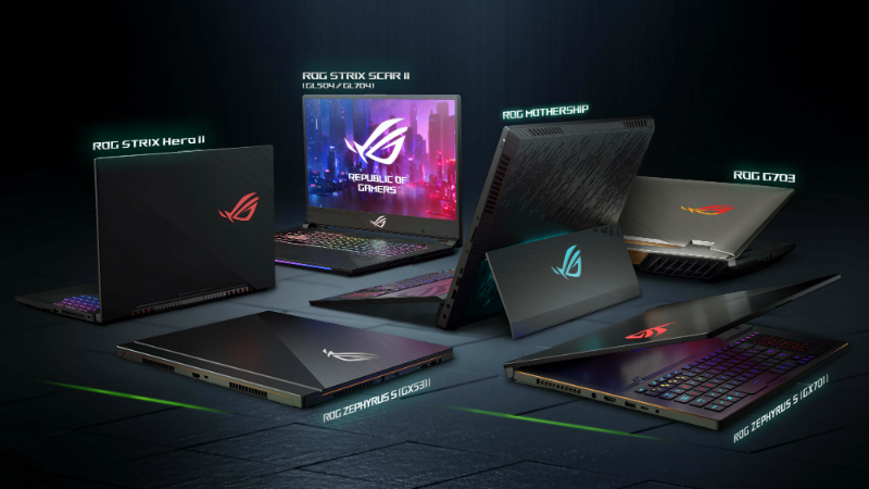 Asus ROG Strix SCAR II, ROG Strix Hero II, Other ROG Gaming Laptops With Nvidia GeForce RTX Graphics Unveiled at CES 2019