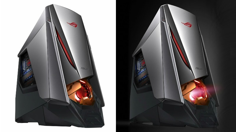 CES 2017: Asus ROG GT51CH Gaming PC Looks Like an Evil Robot