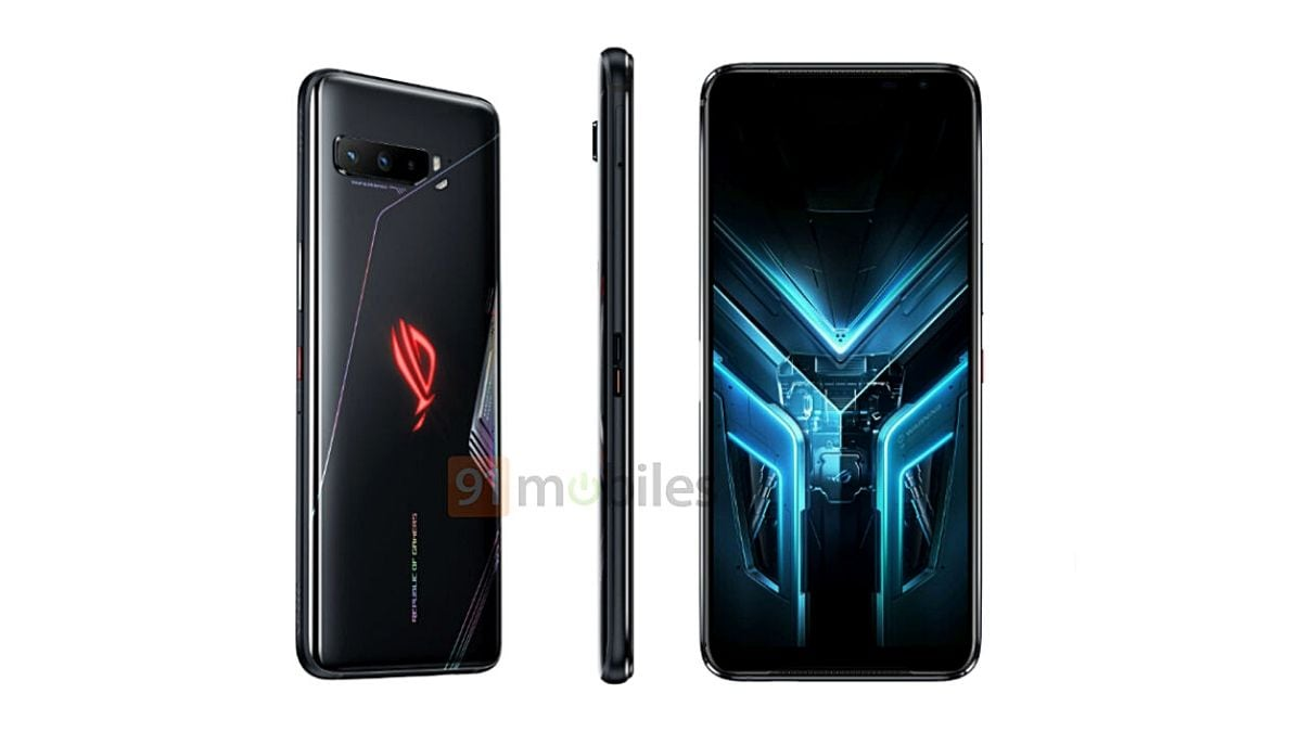 Asus ROG Phone 3 Confirmed to Come With 6,000mAh Battery, Kunai Gamepad and Other Accessories Leaked