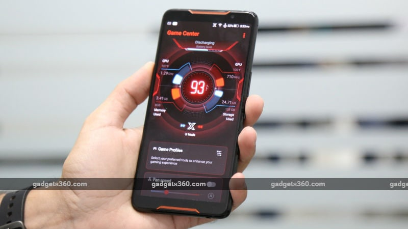Asus ROG Phone With 3D Vapour-Chamber Cooling, 8GB RAM Launched in India: Price, Specifications