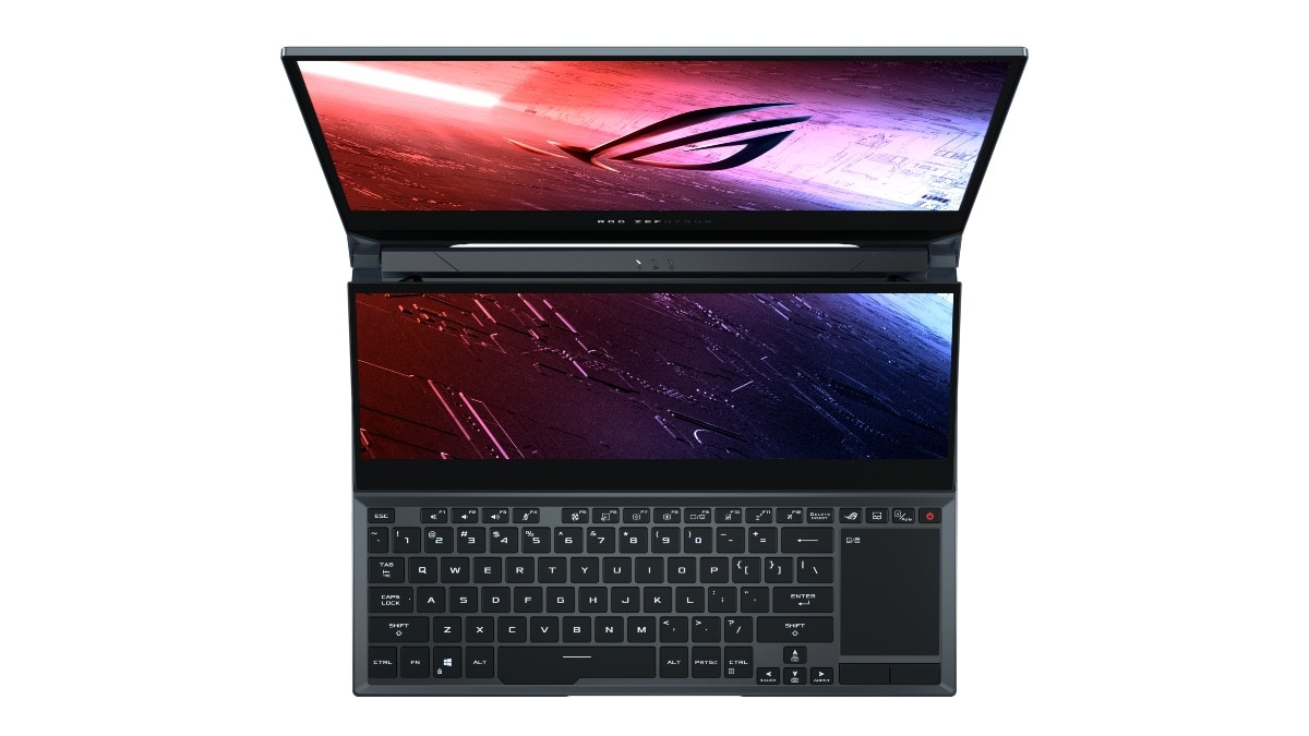 asus rog zephyrus duo 15 secondary display Asus ROG Zephyrus Duo 15