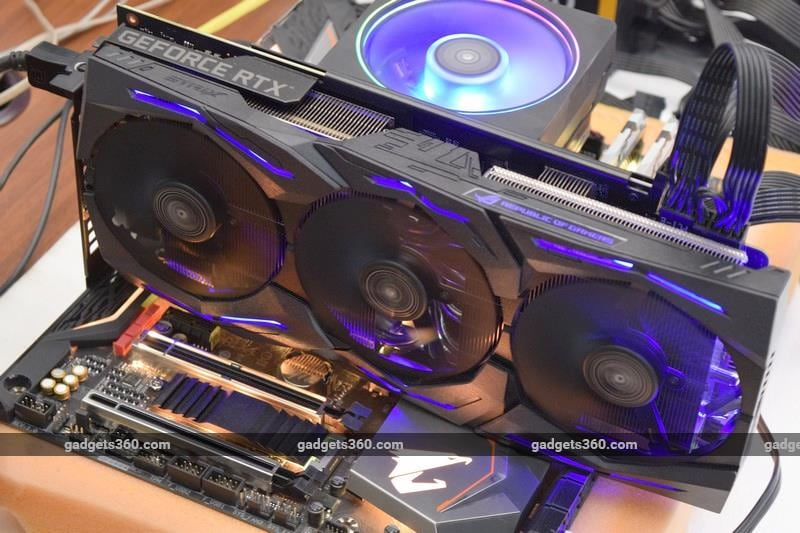 asus strix geforce rtx2060 runningtop ndtv nvidia